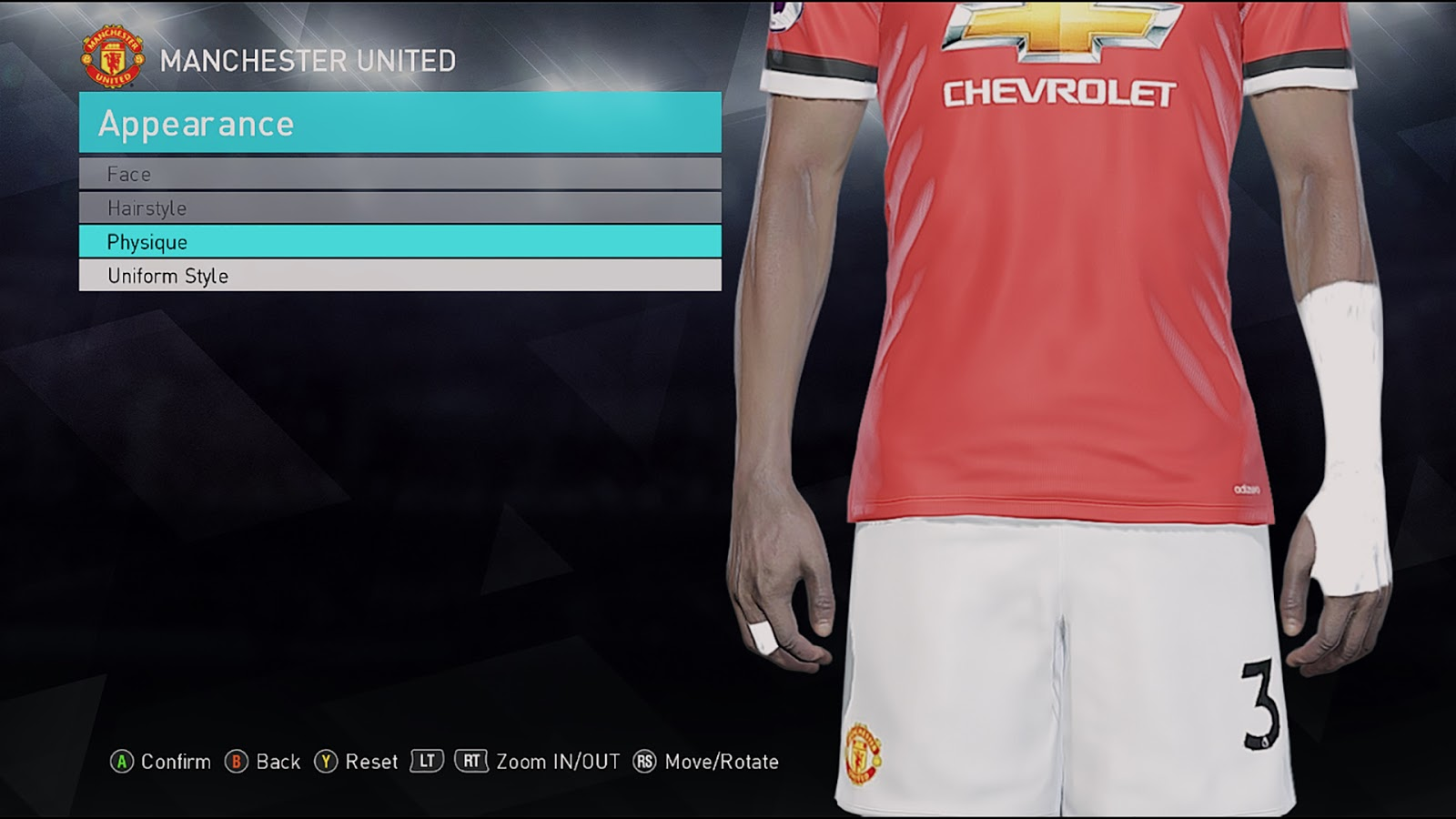 PES 2018 Eric Bailly Writs Strapping By Sofyan Andri