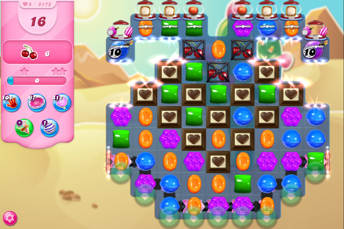Candy Crush Saga level 5172