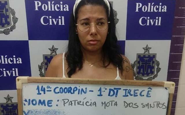 Mulher suspeita de integrar facção criminosa é presa em Irecê
