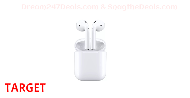 TARGET Apple AirPods with Charging Case