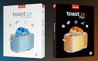 Disponibili Toast 19 Titanium e Toast 19 Pro per Mac