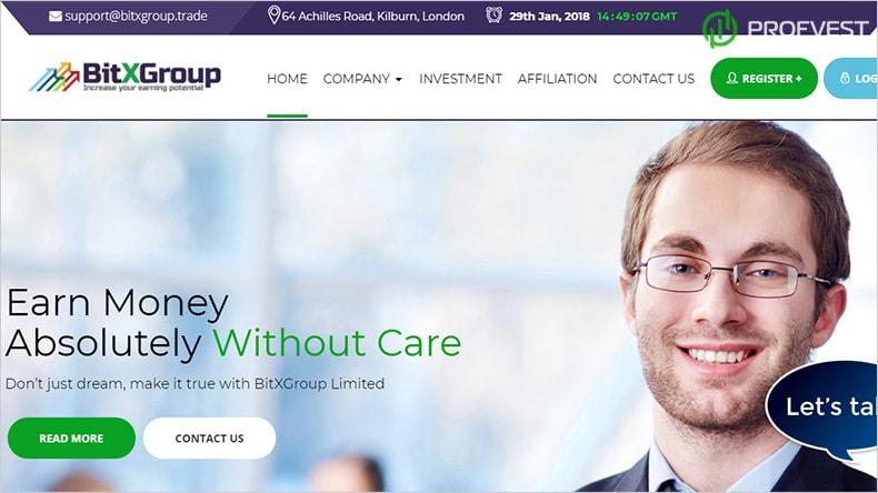 BitXGroup обзор и отзывы HYIP-проекта