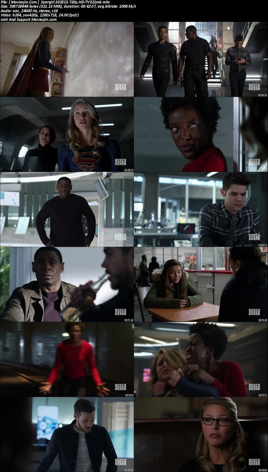 Watch online Supergirl S03E14 720p x264 TVRip 320MB downloadhub