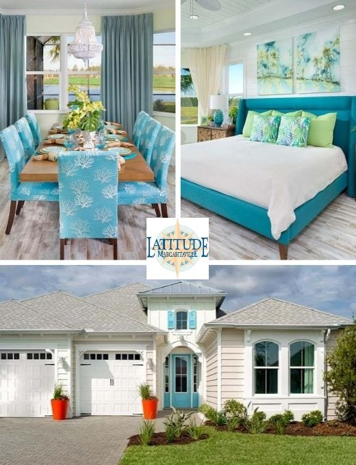 Get Inspiration From A Coastal Home In Jimmy Buffettu0027s Retirement  Community. Itu0027s Breezy Chic Margaritaville Style!
