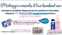 Logo Acqua&Sapone: con Fissan, Lysoform e Coccolino vinci 250 termometri digitali per il tuo bambino
