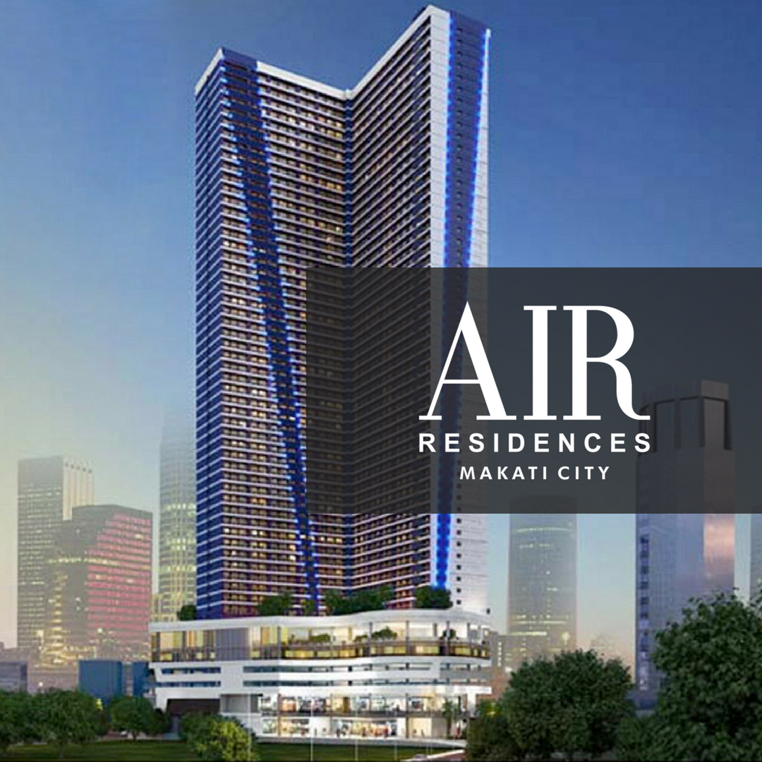SMDC Air Residences - Studio With Balcony | Condominium for Sale Makati City