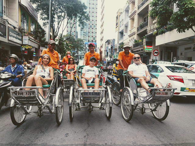 Cyclo tours in ho chi minh city