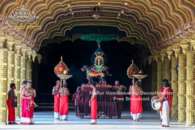 நல்லூர் கந்தசுவாமி கோவில் வைரவர் உற்சவம்..!!! (Video)