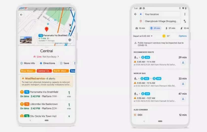 Google Maps Beri Peringatan Virus Corona (google.com)