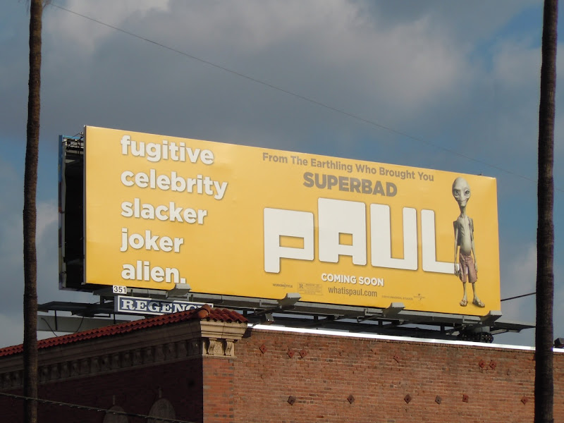 Paul alien billboard