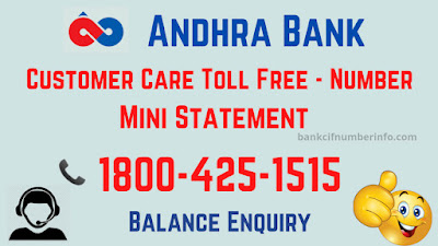Get mini statement by toll-free number