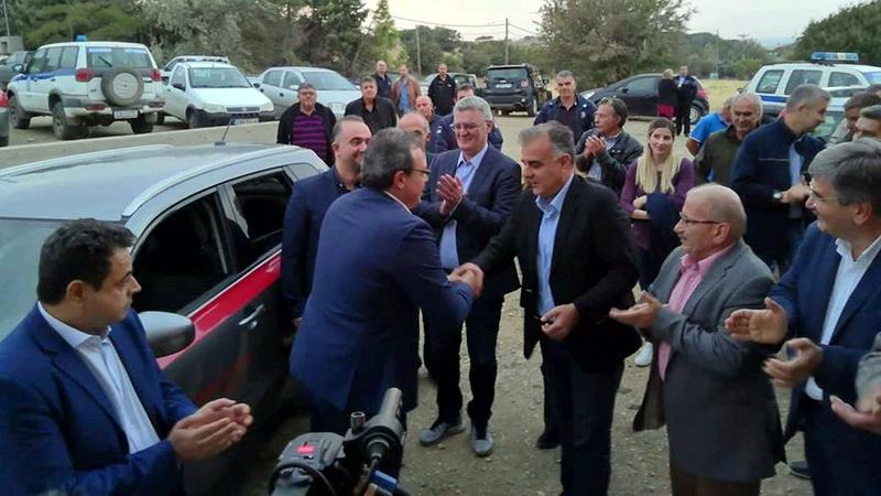 Επίσκεψη των αναπληρωτών Υπουργών Σ. Φάμελλου και Ν. Σαντορινιού στη Σαμοθράκη