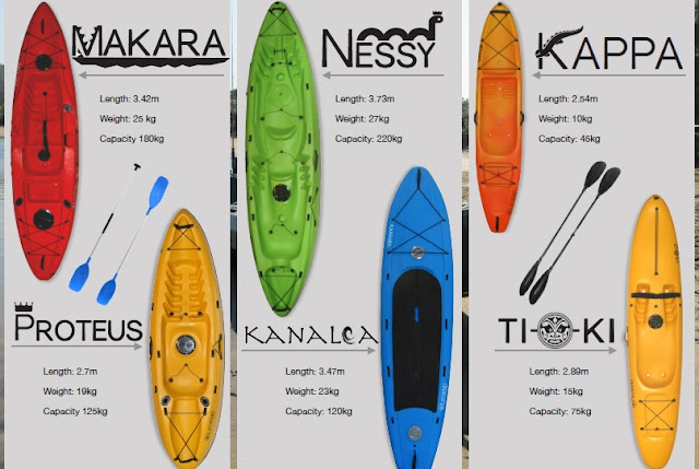 Legend Kayak Range
