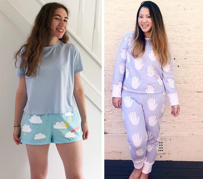 Jaimie and Juno pyjamas