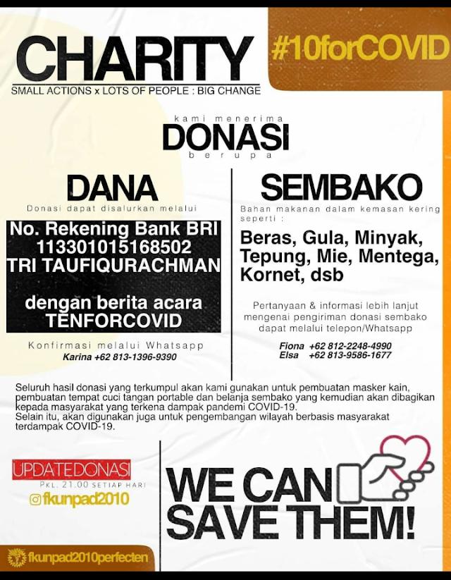Penggalangan Donasi by @fkunpad2010