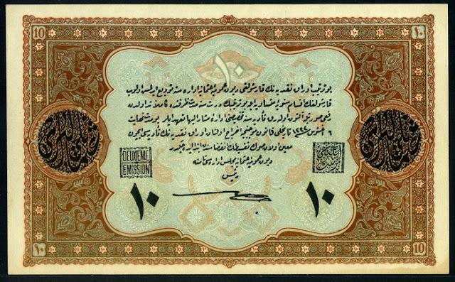 Ottoman Empire 10 Livres