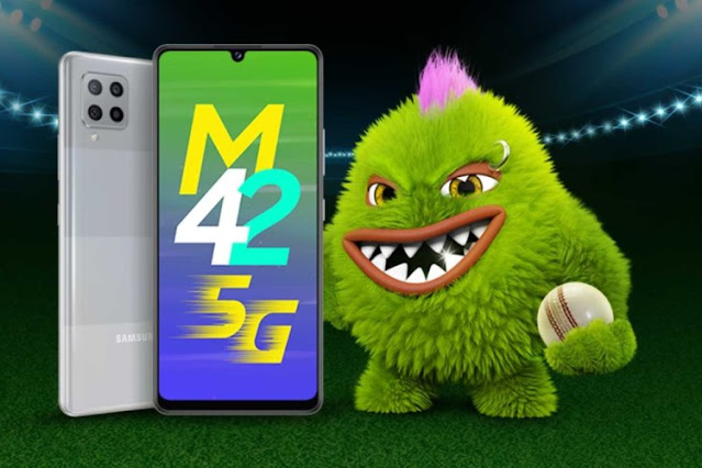 سعر ومواصفات هاتف Samsung Galaxy M42 موديل 5G