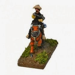 SUL24 Boer or Colonial Horse with carbine.