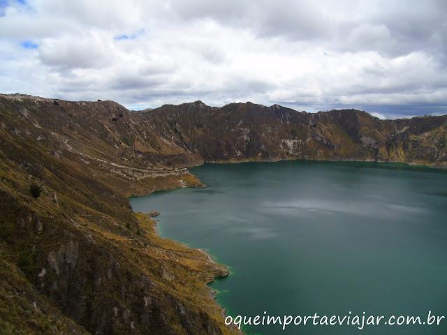 Vulcão Quilotoa - Equador
