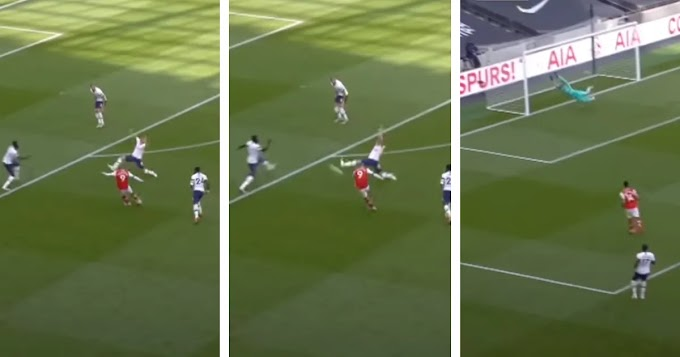 Video: Alexandre Lacazette beautiful stunner in 2-1 loss to Tottenham