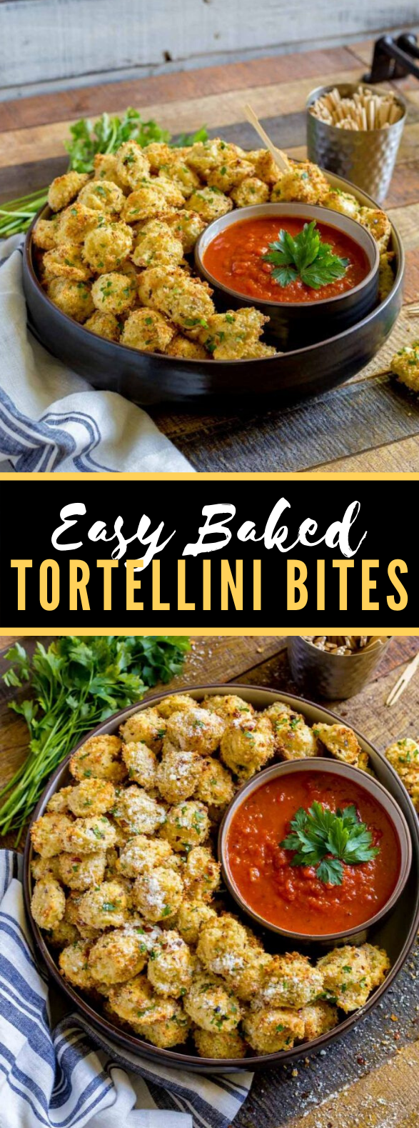 TORTELLINI PARTY SNACKS #appetizers #gameday