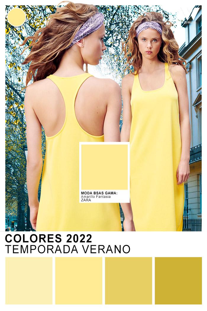 Catalogo de colores primavera verano 2022 Moda Buenos Aires