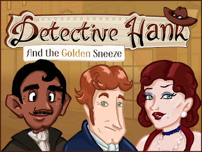 Detective Hank and the Golden Sneeze
