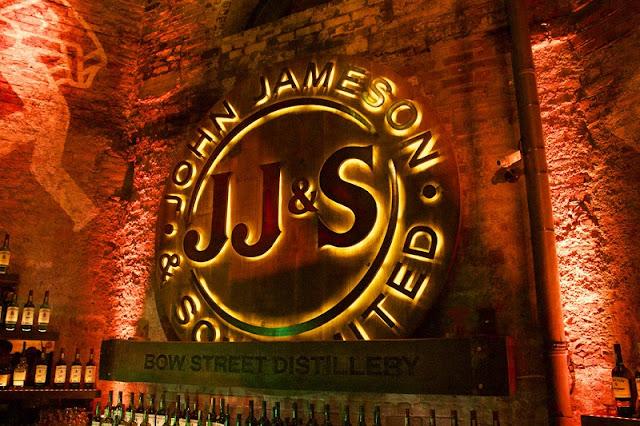 História da Destilaria Old Jameson
