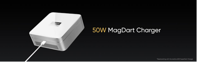 50W MagDart Charger, world's fastest magnetic wireless charger