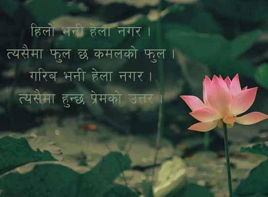 Nepali attitude Status for fb