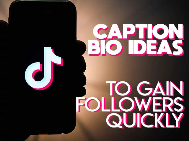 TikTok Captions & Bio Ideas For Dancers to Gain Followers