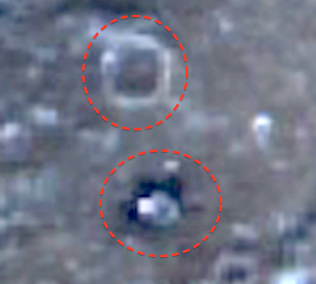 UFO SIGHTINGS DAILY: Buildings On Mercury Close Up, In