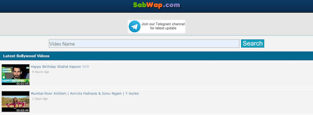 Sabwap Hollywood Dubbed in Hindi, Bollywood Movies Download & New Domain Link