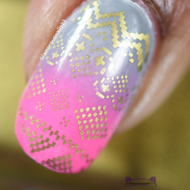 Grey, Pink, & Gold - Stamping Saturdays #13