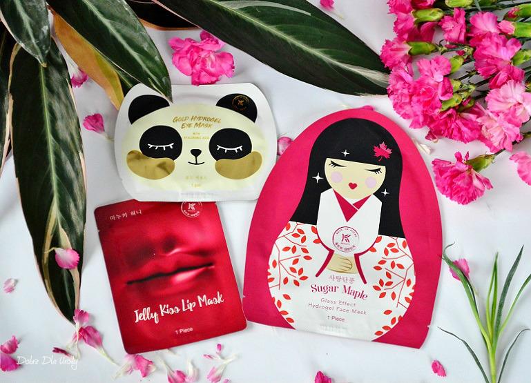 Koreańskie maski Avon K-beauty - do twarzy, do ust i pod oczy recenzja