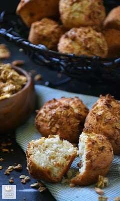 Crunchy Granola Muffins | by Life Tastes Good