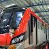 लखनऊ में मेट्रो 60 किलोमीटर की रफ्तार से दौड़ी