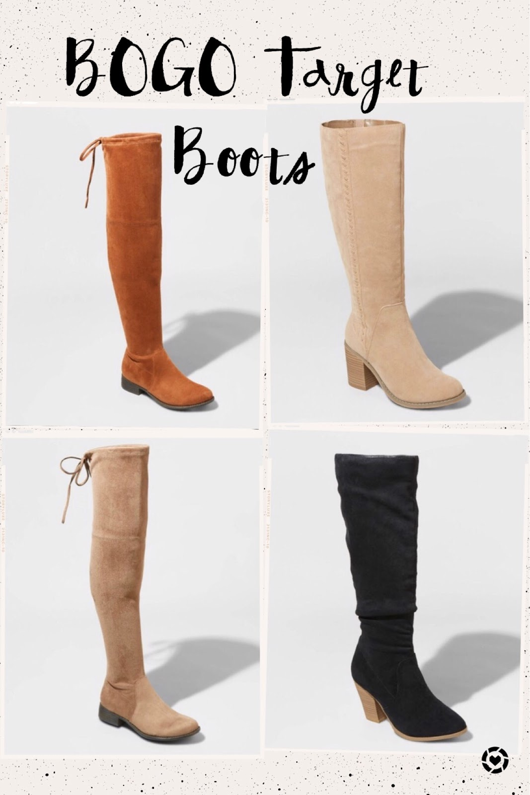 Best Boots for Fall 2019 Under $50 - Affordable by Amanda, Florida style blogger shares her Target boot finds for less than $50 this fall season