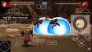 تحميل لعبة Naruto Impact PSP مود Shinobi Striker للاندرويد على محاكي PPSSPP برابط مباشر