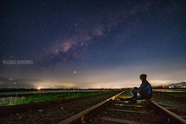 Cara Memotret Milky Way