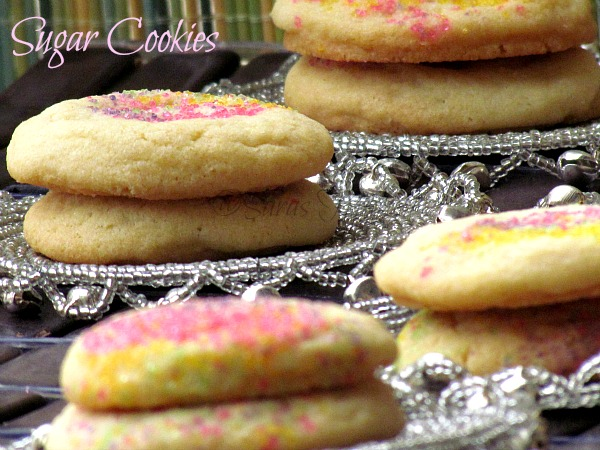 No Cut Sugar cookies