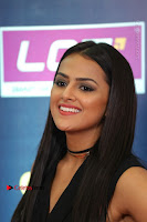 Actress Shraddha Srinath Stills in Black Short Dress at SIIMA Short Film Awards 2017 .COM 0071.JPG