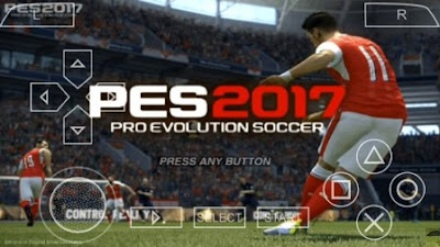 PES 2017 PSP ISO Android By Amry + Save Data