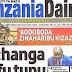 SERIKALI YASITISHA LESENI YA KUCHAPISHA NA KUSAMBAZA GAZETI LA TANZANIA