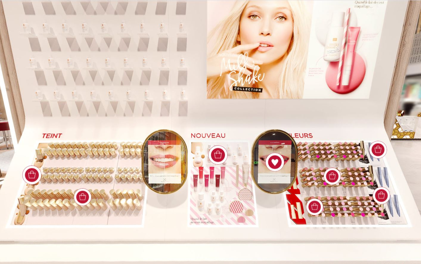avis boutique virtuelle eshop Clarins