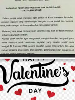 Surat Edaran Pemkot Makassar Valentine Day Tidak Boleh Ada Perayaan Atau Party