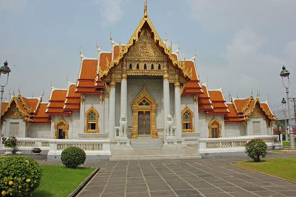 Templo Wat Benchamabophit de Bangkok