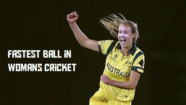 Fast Bowling Ball in Women's Cricket
