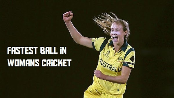 Fast Bowling Ball in Women's Cricket