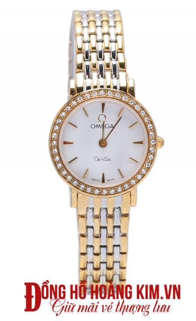 Đồng hồ omega nữ dây sắt